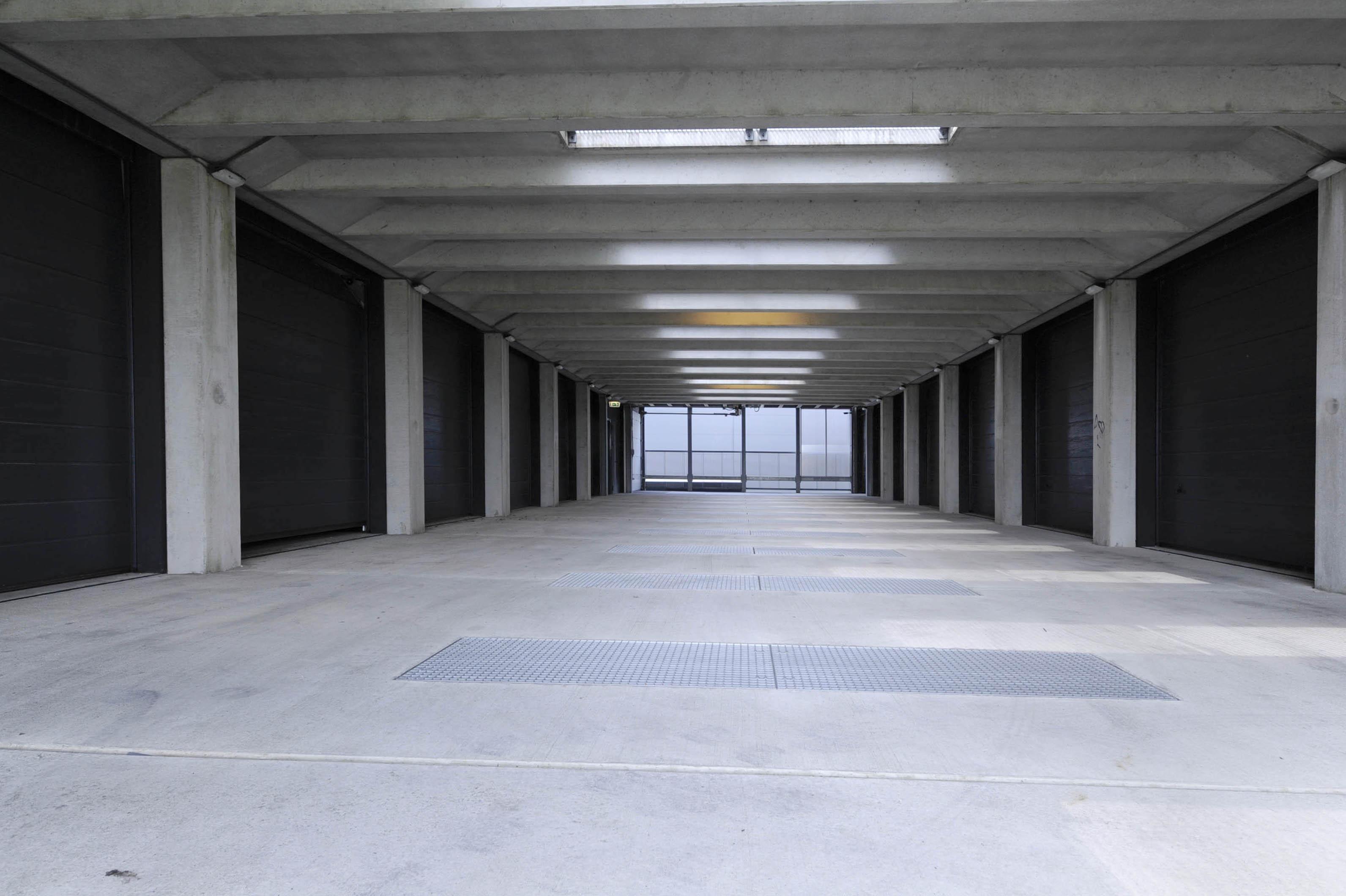 Opslag units op de eerste verdieping